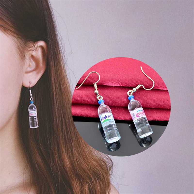 2019 Fashion Autumn  Water Bottle Pendant Dangle Earrings For Women Jewelry Accessories Holiday Party Gift Creative