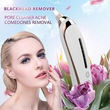 Removedor de espinillas aspiradora limpiador de poros removedor de cabeza negro acné granos Comedones eliminación de cuidado facial herramientas aspiradora negro dot