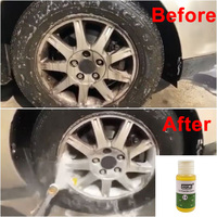 Franchise HGKJ-14 20LM Car Wheel Ring Cleaner High Concentrate Detergent To Remove Rust Tire Car Wash Liquid Cleaning Agent 5