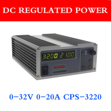 Gophert Mini Digital DC Power Supply CPS 3220 Adjustable 0 32V 0 20A 0.01V / 0.01A 110V / 220V Precision Digital Adjustable