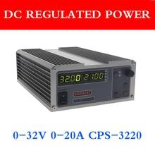 Gophert Mini Digitale Dc Voeding CPS 3220 Verstelbare 0 32V 0 20A 0.01V / 0.01A 110V / 220V Precisie Digitale Verstelbare
