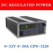 Gophert Mini alimentation cc numérique CPS 3220 réglable 0 32V 0 20A 0.01V / 0.01A 110V / 220V précision numérique réglable