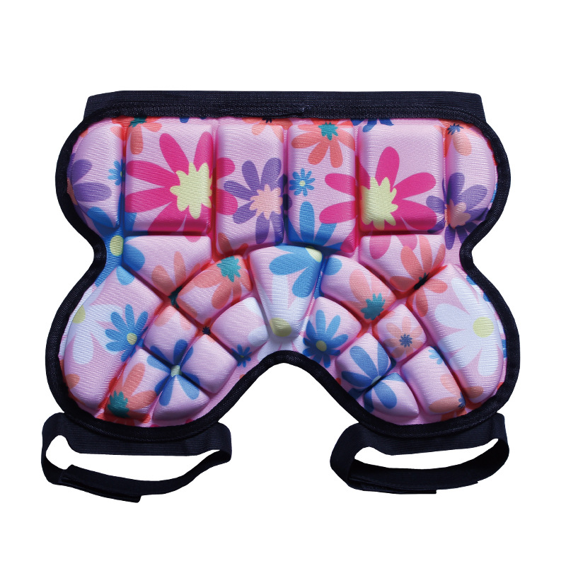 Children Roller Skating Shatter-resistant Pants Hip Pad Flower Style Skating Moon Hip Pad Nursing Ass Shatter-resistant Butt Pad