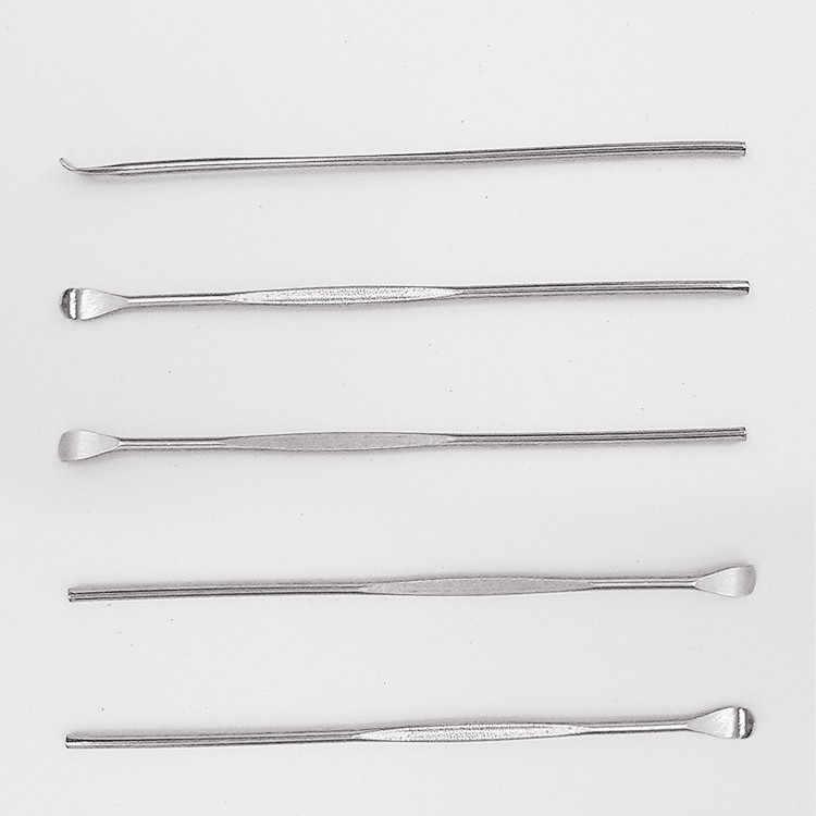الأذن إزالة الشمع جامعو الفولاذ المقاوم للصدأ الأذن يختار الشمع كوريت مزيل نظافة الأذن العناية أداة EarPick