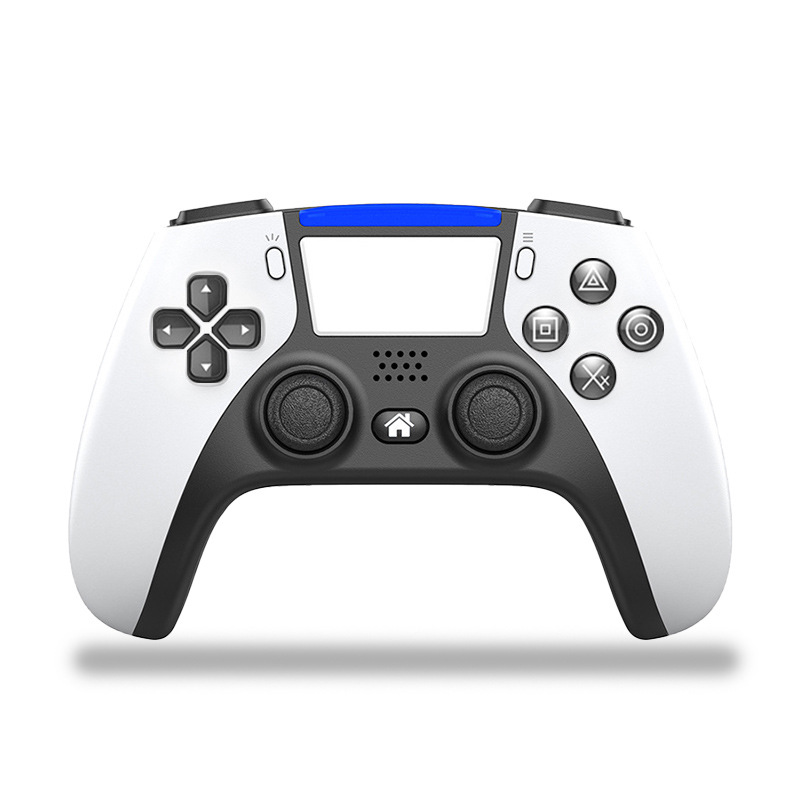 Free Shipping Bluetooth Wireless Game Controller For PS4 Console with PS5 Style Double Vibration Game Gamepad For PC and Android