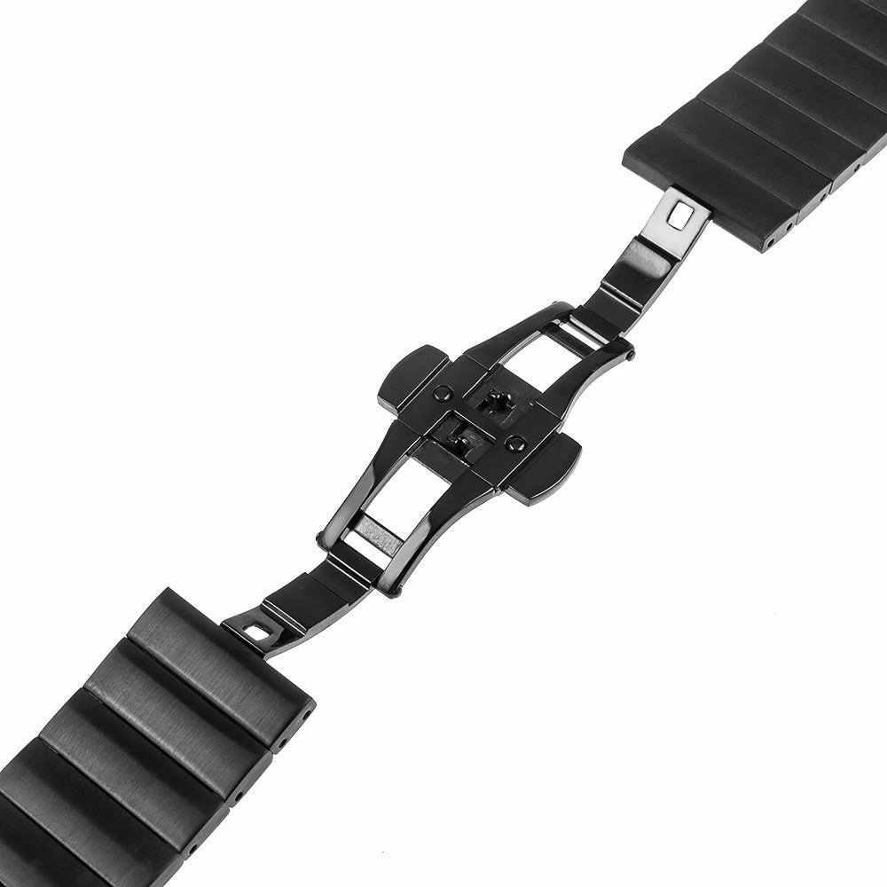 18 مللي متر 20 مللي متر 22 مللي متر العالمي حزام (استيك) ساعة حزام الفولاذ المقاوم للصدأ استبدال رابط سوار لسامسونج والعتاد S2 الكلاسيكية S3 الحدودي