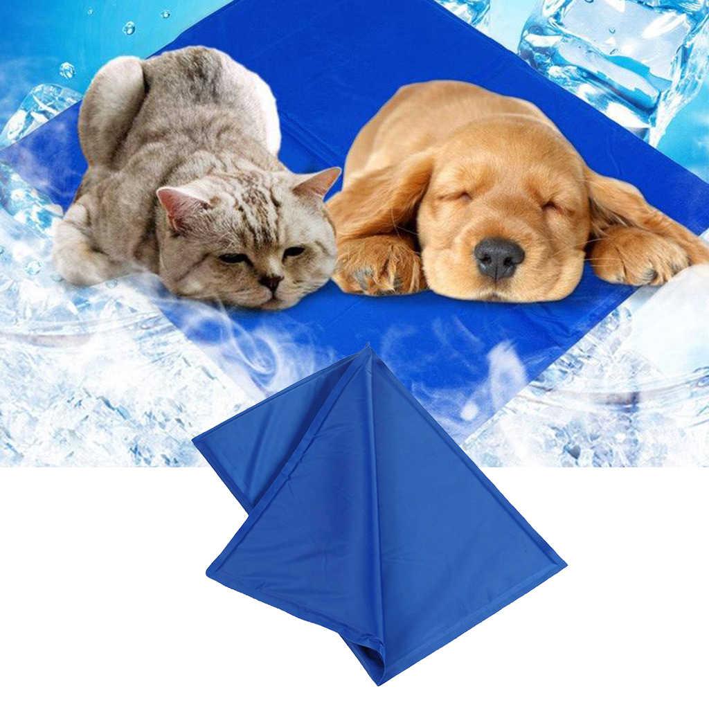 Elinala Manta Refrigerante Perro Manta Refrigerante Gato Rojo Alfombrilla para Mascotas Verde Impermeable Plegable no T/óxica para Perros y Gatos