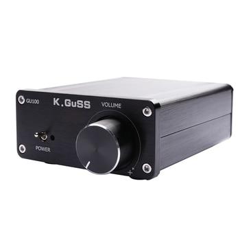 Kguss Gu100 Mini Hifi Audio Amplifier Class D Audio Digital Power Amplifier Tpa3116 Advanced 2x100W Home Audio Enclosure Amp