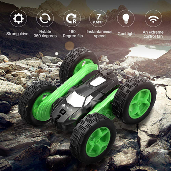 Eachine EC02 RC Car 2.4G 4WD Stunt Drift Deformation Buggy Roll Car 360 Degree Flip Robot Vehicle Models High Speed Rock Crawler 3
