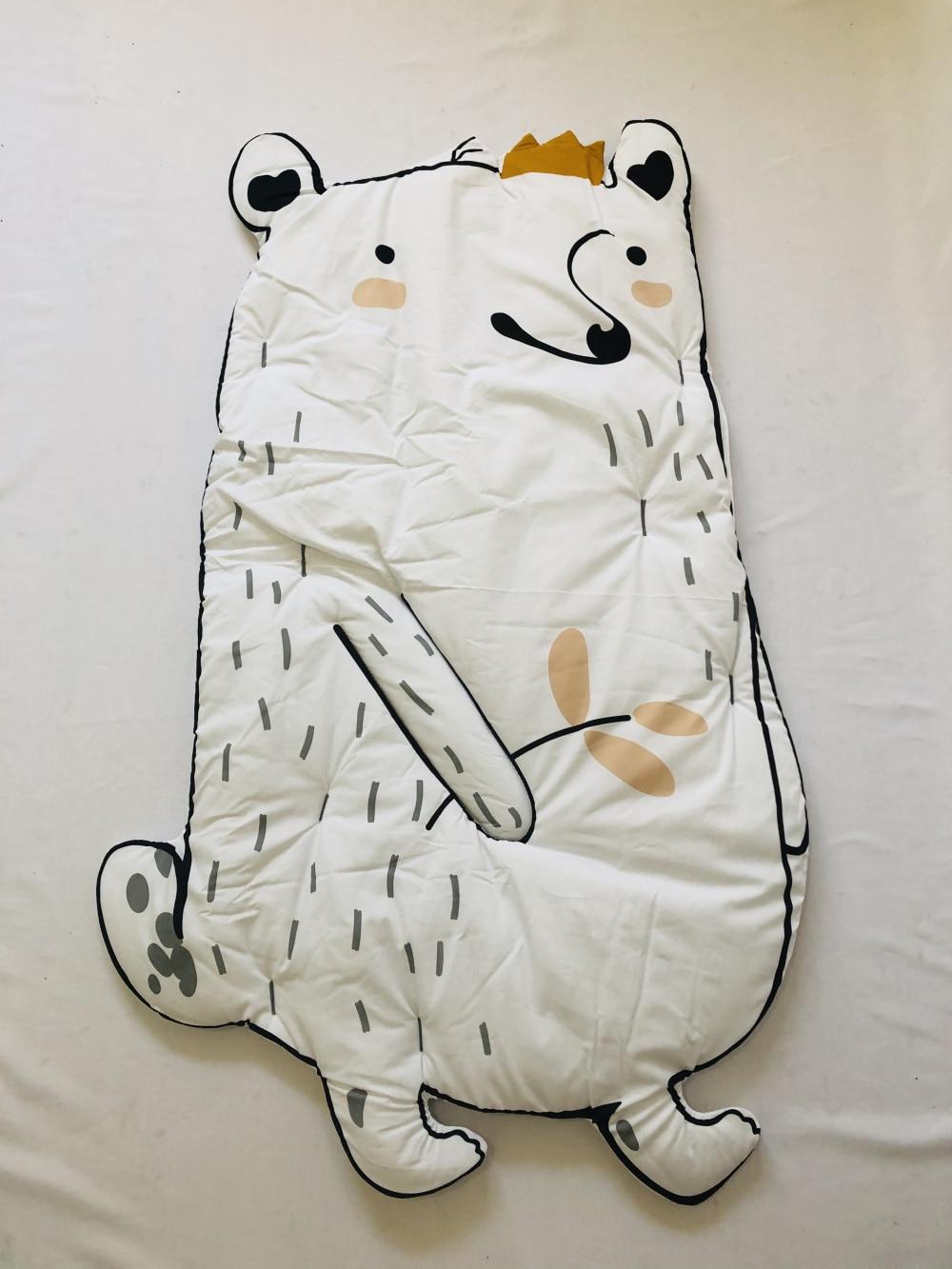 INS Белый Кролик енот игровой коврик детское одеяло утолщенный ползающий коврик игровой коврик - Цвет: Thick Raccoon