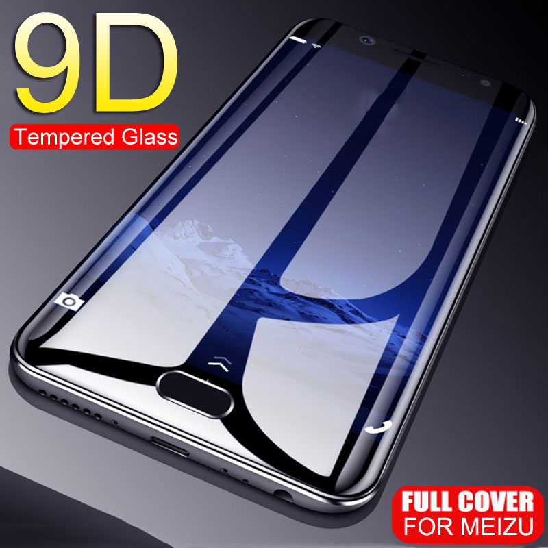 9D Anti-Scratch Tempered Glass For MEIZU M5 M6 M3 Note M3S M5S M6S M6T U20 Pro 6 7 Plus Protective Glass Screen Protector Film