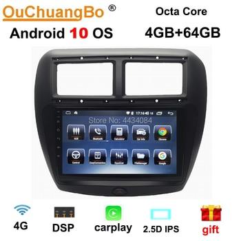 Ouchuangbo 9 pulgadas IPS estéreo de coche multimedia auto gps para FAW V5 soporte 8 núcleos pantalla dividida DSP carplay 1080P android 10,0 OS