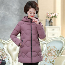 Winter Women Puffer Hooded Jackets Pure Colour Lightweight Warm Puff Hood Parkas Woman Red Blue Purple Black Quilted Outerwear