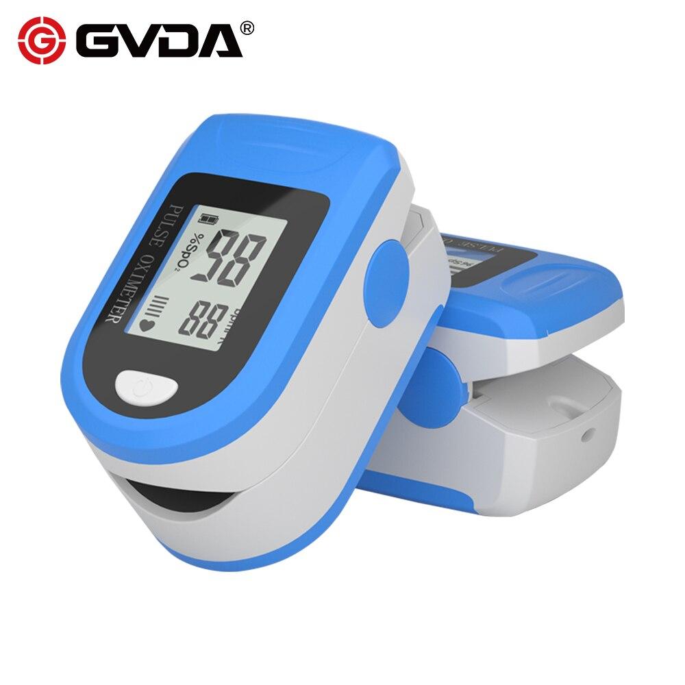 GVDA пальцевой Пульсоксиметр De Dedo Pulso Oximetro пальцевой оксиметр Pulsioximetro SPO2 PR монитор измеритель насыщения крови кислородом Приборы для измерения температуры      АлиЭкспресс
