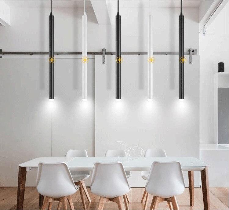 加长桶led吊线筒灯北欧餐厅射灯吧台LED长筒吊灯简约现代圆柱桶灯-淘宝网_04