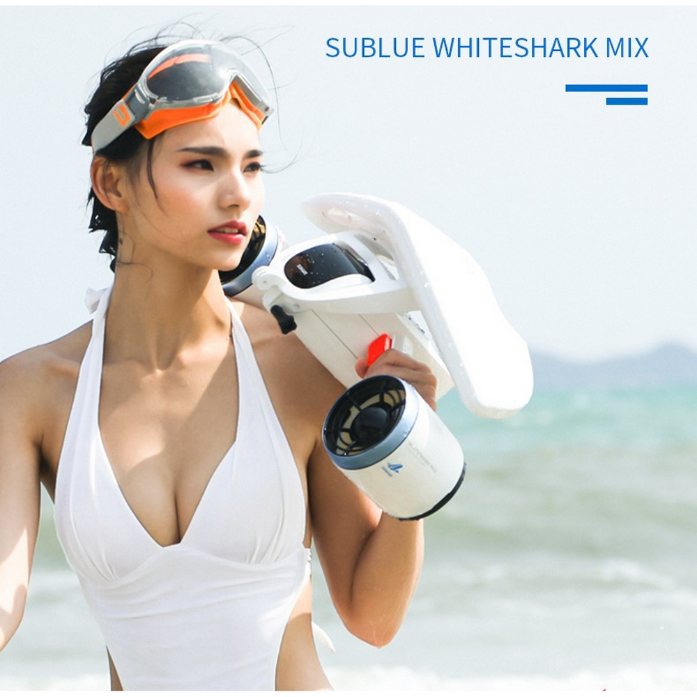 New Sublue Whiteshark Mix Underwater Booster Unisex Submersible Electric Scooter Underwater Swimming Diving Snorkeling Equipment