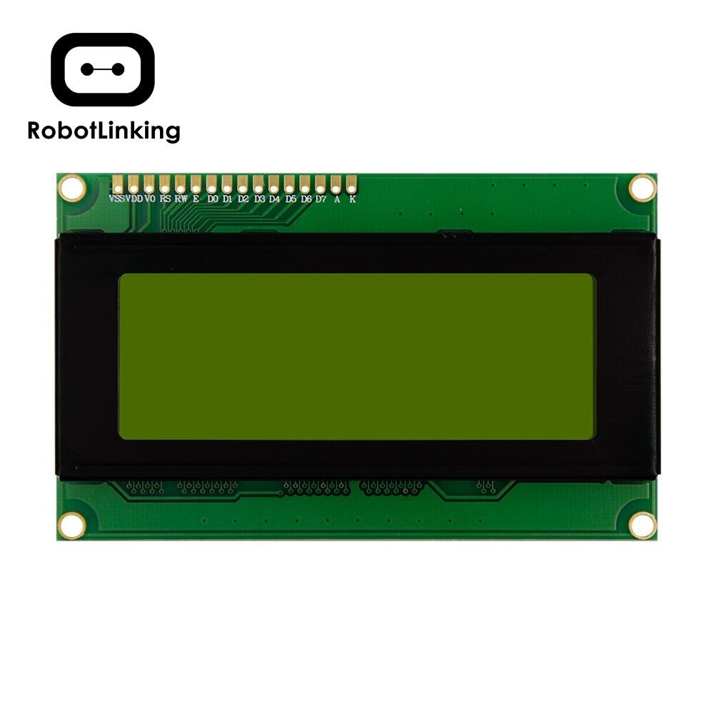 Module d'affichage LCD 2004 5V Yello vert (bleu) écran 20*4 LCD