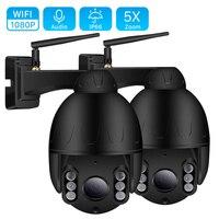 1080P 2MP PTZ IP Camera Outdoor Onvif 5X ZOOM Waterproof Mini Speed Dome Camera 2MP H.264 IR 50M P2P CCTV Home Security Camera