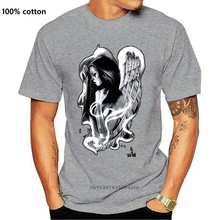 Sullen Clothing Clown Angel t-shirt da uomo Tattoo Clothing Art inchiostro collazionale