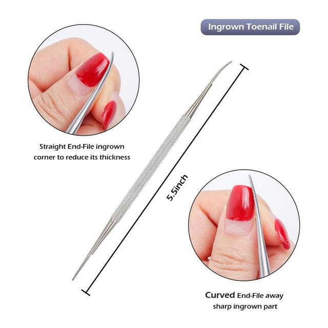 VeryYu 8Pcs/set Professional Pedicure Tools Kit Nails Arts and Tools Nails Care  VeryYu the Best Online Store for Women Beauty and Wellness Products