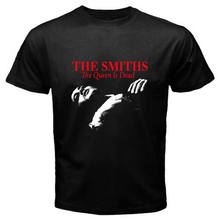 THE SMITHS *The Queen Is Dead 80's Rock Music Men's Black T-Shirt Size S to 3XL(China)