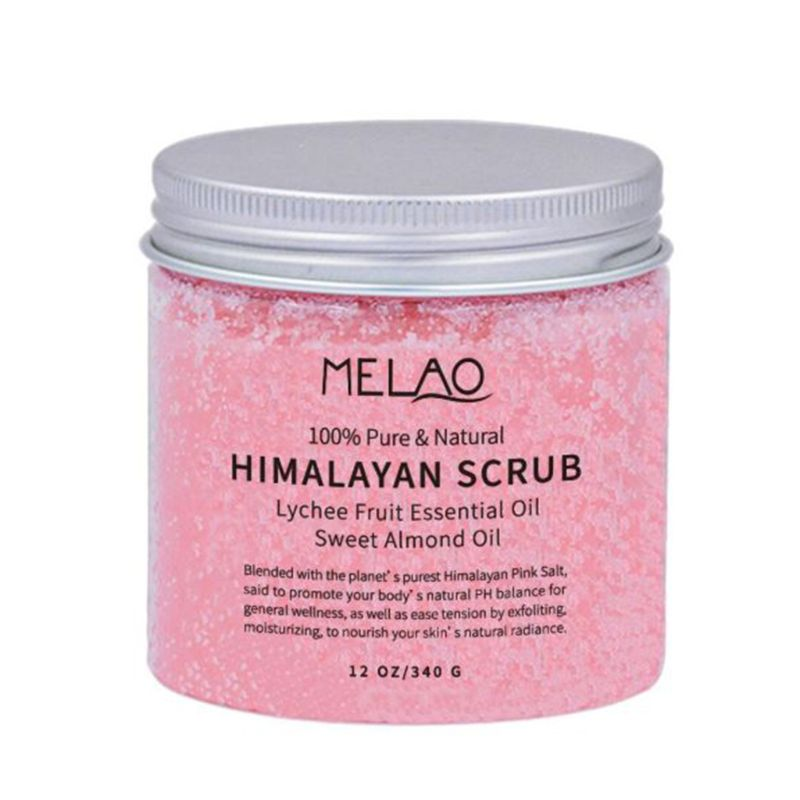 Himalayan Salt Body Scrub Deep Cleansing Ultra-hydrating Skin Care Frosted Cream