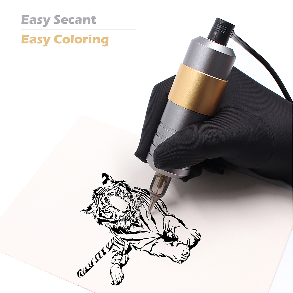 Professional Rotary Tattoo Pen Machine Set For Eyberow Permanent Makeup Machine Kit With Cartridges Needles Tattoo Supplies