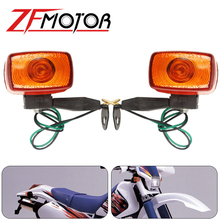 Lentille de clignotant de moto, pour YAMAHA XT225 TTR250 KLX250 XR250 TTR KLX XR 250
