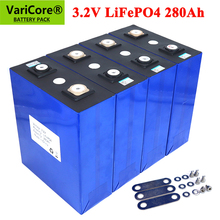 4pcs/lot 3.2V 280AH battery pack LiFePO4 Lithium iron phospha 12V 24V 36V for E-scooter RV Solar Energy storage system