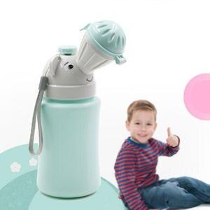 Baby Potty Toilet-Training Travel Urinal Hygiene-Press-Button Safe Car Anti-Leakage PP