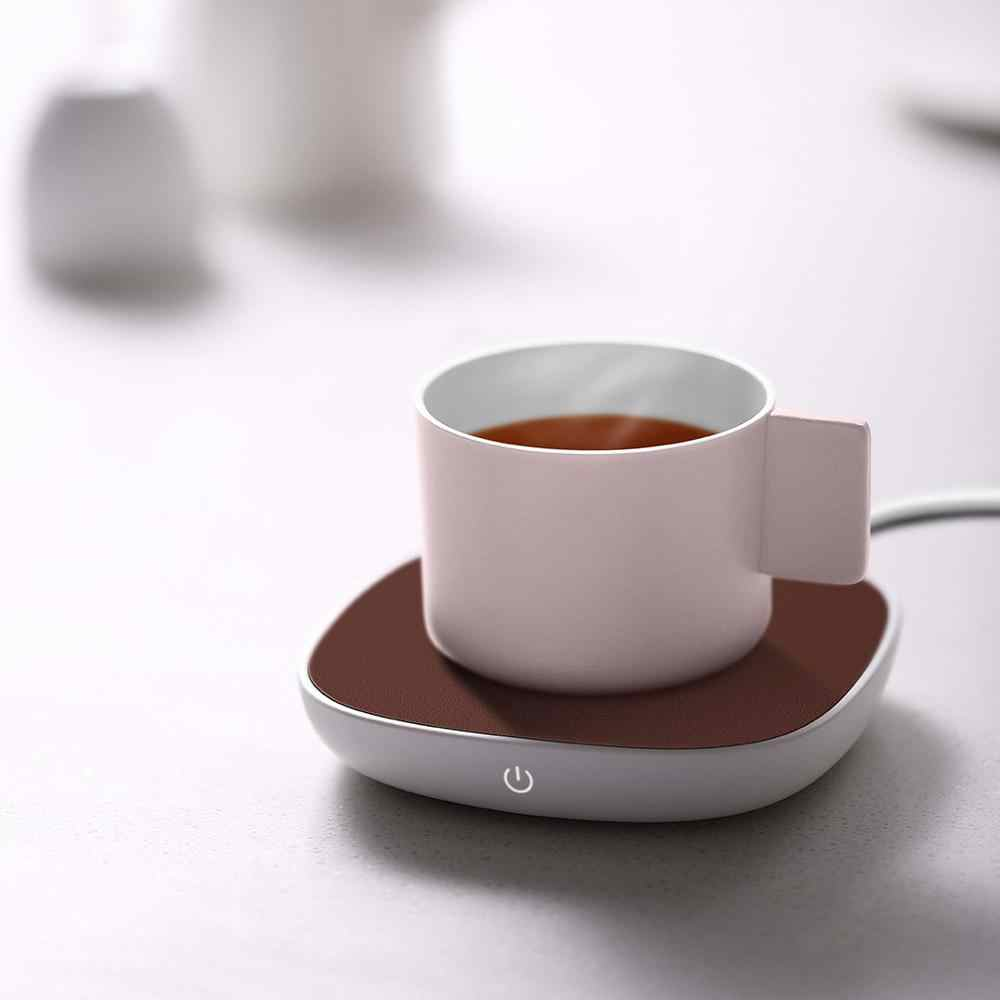 Xiaomi SJ Xiaobai Insulation Heating Coaster 55 degree Constant Temperature DC 12V PI Heating for Porcelain Glass Metal Cup
