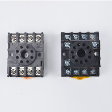 PF083A/PF083 relais basis buchse universal basis 8 füße AH3 AH2 ASY ST3P DH48S DH48J MK-3P JS14S JQX JTX-3C PF113A 11 füße