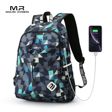Mark Ryden sac à dos décole de qualité sacoche dordinateur portable de marque, sac à dos hydrofuge, en Nylon, matériau pour homme