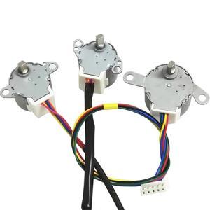 Image 2 - מיזוג אוויר אביזרי נדנדה עלה סינכרוני מנוע עבור midea MP24GA MP24GA5 מנוע צעד 5 חוט 12V DC