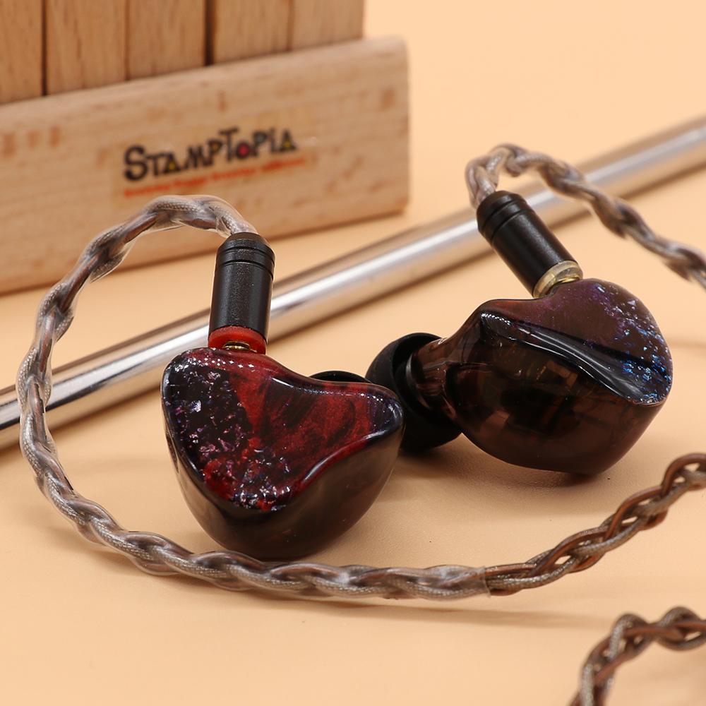 BGVP ArtMagic ES12 4EST + 8BA Electrostatic Balanced Armatures Hybrid Hifi Music Moniotor In-Ear  Audiophiles Musician Earphone