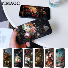 painting flower Butterfly In a Vase aesthetic Art Silicone Case for Redmi Note 4X 5 Pro 6 5A Prime 7 8