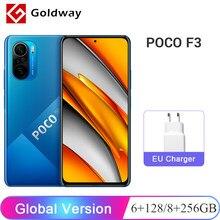 Versão global poco f3 5g 6gb 128gb/8gb 256gb smartphone snapdragon 870 6.67