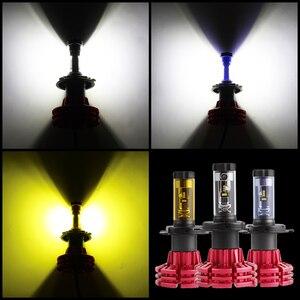 Image 5 - Nighteye Led H4/HB2/9003 H13 9005 9006 9007 H7 H11 60W 10000LM Car LED Headlights H1 H3 Fog Lamps 3000K 6500K 8000K Plug N Play