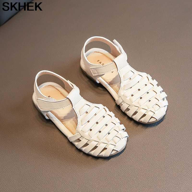 SKHEK เด็กวัยหัดเดินเด็กชายหาดลื่นรองเท้ารองเท้าฤดูร้อน 2019 ใหม่ชายหญิงรองเท้าแตะสำหรับหญิง 3 สี