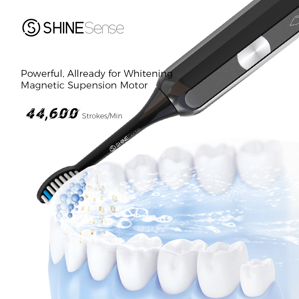 ShineSense STB600 Sonic Electric Toothbrush Ultrasonic Tooth Brush Fast Rechargeable Waterproof with Travel Box for xiaomi mijia