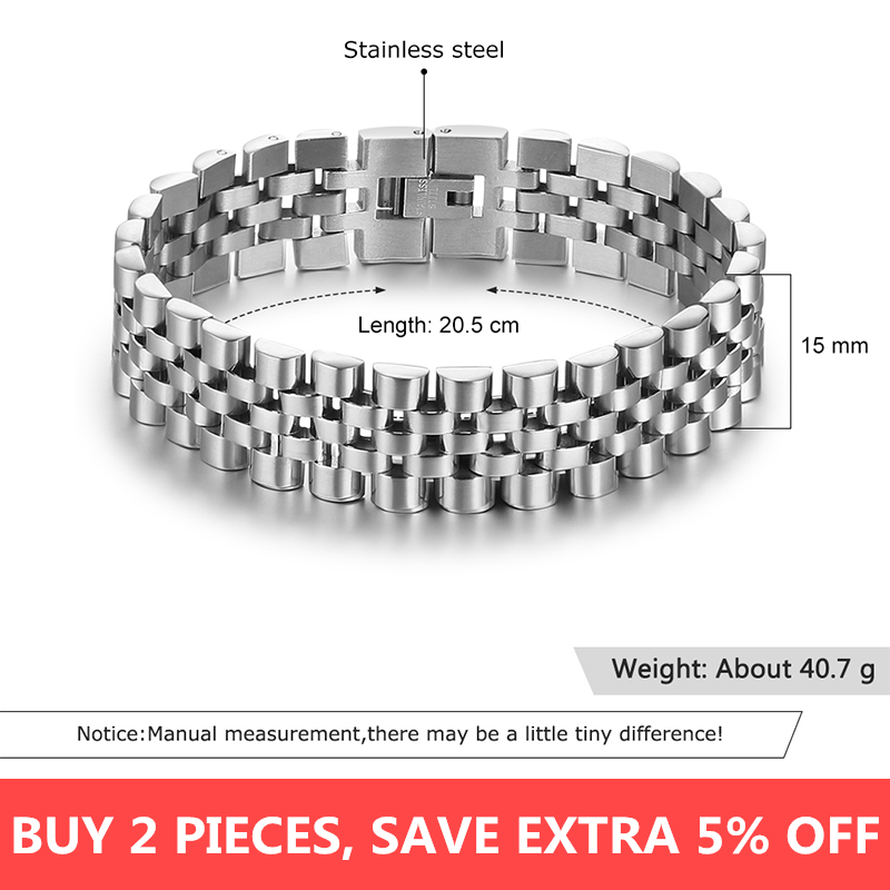 Luxury Gold Color Stainless Steel Bracelet  1