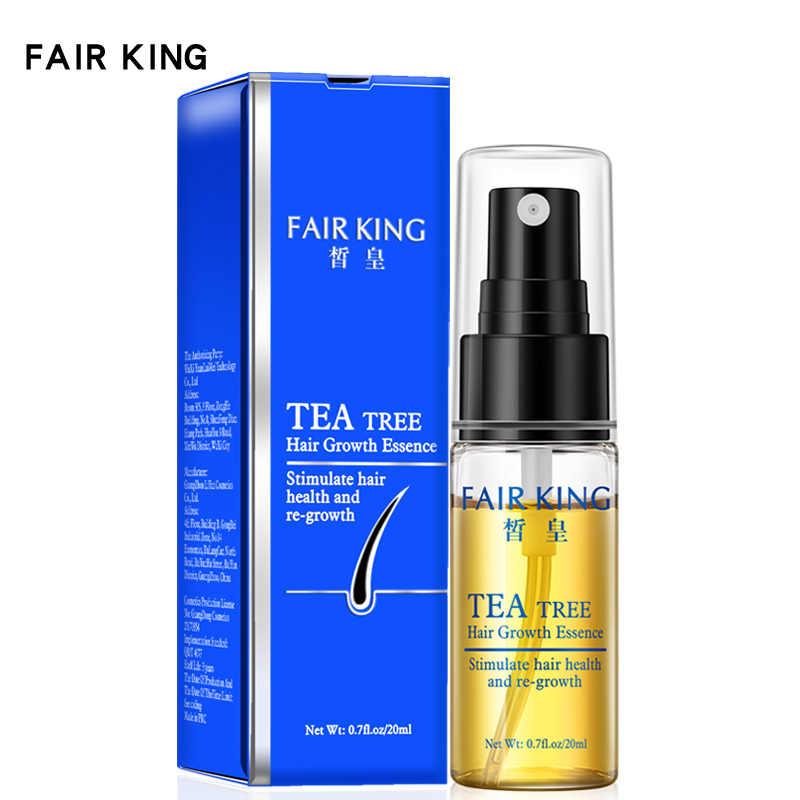 Tratamento líquido do óleo essencial dos produtos da perda de cabelo da essência do crescimento do cabelo da árvore do chá que impede produtos dos cuidados capilares da perda de cabelo 20ml