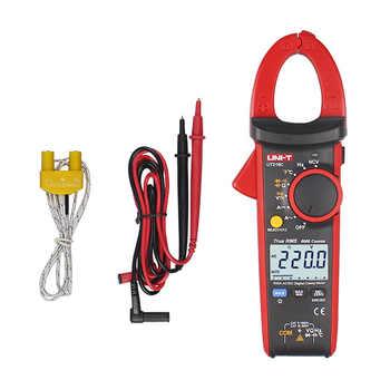 Uni T UT216C TRUE RMS Digital Clamp Meter 600A Auto Range Analog multimeter NCV VFC Frequency Capacitance Temperature Tester - DISCOUNT ITEM  25 OFF Tools