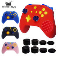 DATA FROG Silicone Protective Cases Cover for XBOX ONE Slim Controller Anti-Slip Rubber with Thumb Stick Grip for XBOX ONE SLIM