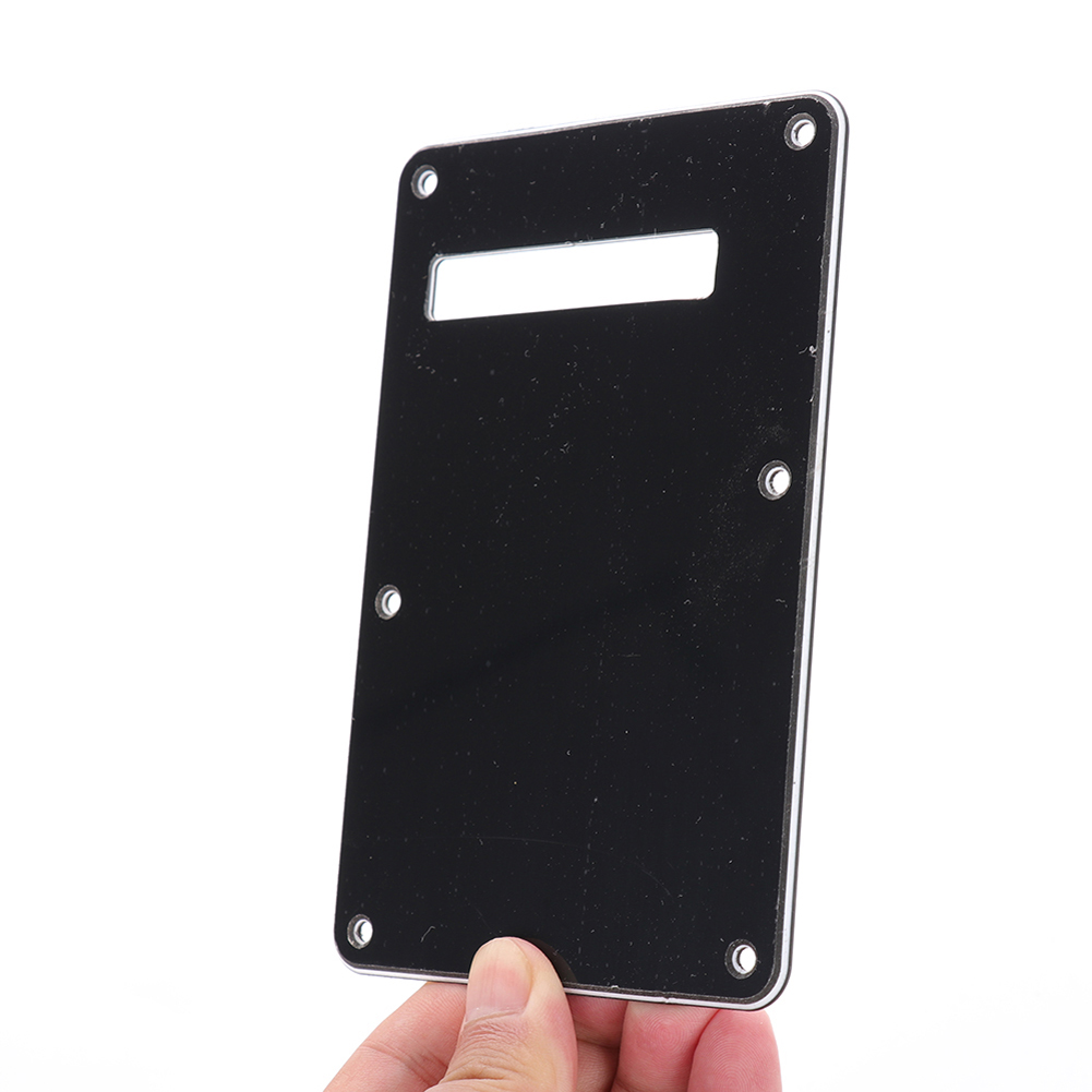 Pickguard Tremolo Cavity Cover Backplate Back Plate 3Ply For Fender Stratocaster Strat Modern Style Electric Guitar