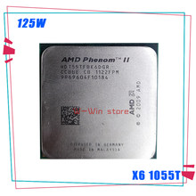AMD Phenom II X6 1055T 1055 de 2,8G 125W seis-Core CPU procesador HDT55TFBK6DGR hembra AM3