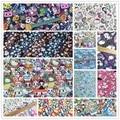 ZENGIA 50*148 см toki-doki Единорог Мягкая хлопковая ткань для домашнего текстиля ручная работа шитье пэчворк детская одежда юбка пэчворк