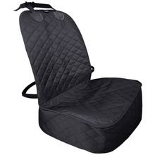 Dog Car Seat Cover Oxford Waterproof Pet Cat Carrier Mat For Cars Soft Front Protector Washable
