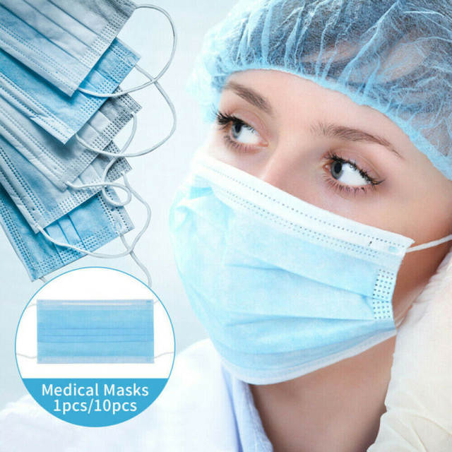 disposable earloop face mask dental surgical hypoallergenic