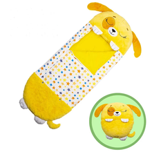 Children Sleeping Bag Soft Comfortable Easy to Carry Nap Pillow
